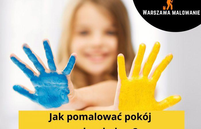 jak pomalować pokój na dwa kolory